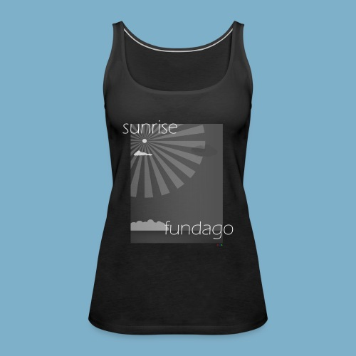 sunrise fundago Motiv - Frauen Premium Tank Top