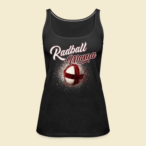 Radball Mama - Frauen Premium Tank Top