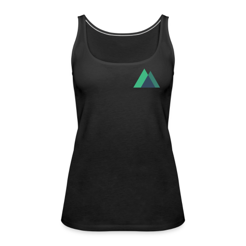Mountain Logo - Women's Premium Tank Top