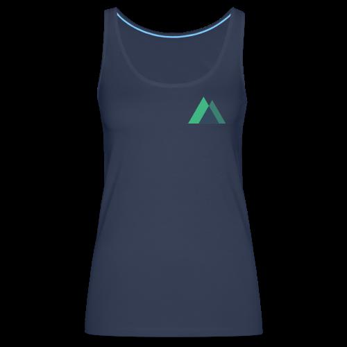 Mountain Logo - Women's Premium Tank Top