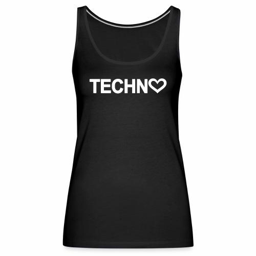 Techno Love - Frauen Premium Tank Top