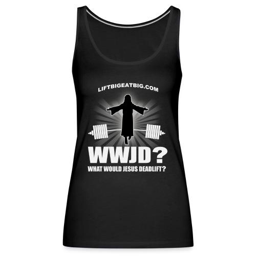 wwjd final - Women's Premium Tank Top
