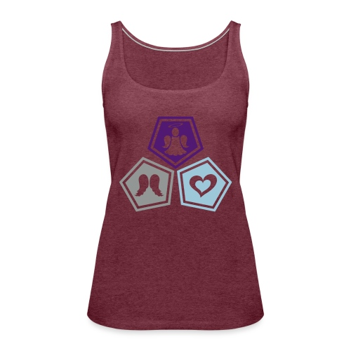Tee shirt baseball Enfant Trio ange, ailes d'ange - Women's Premium Tank Top