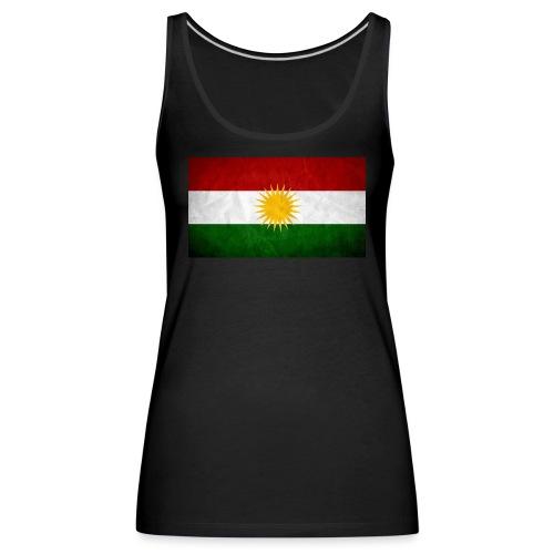 Kurdistan Flagge - Frauen Premium Tank Top