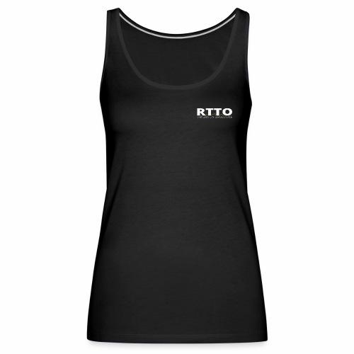 RTTO BLACK EDITION - Vrouwen Premium tank top