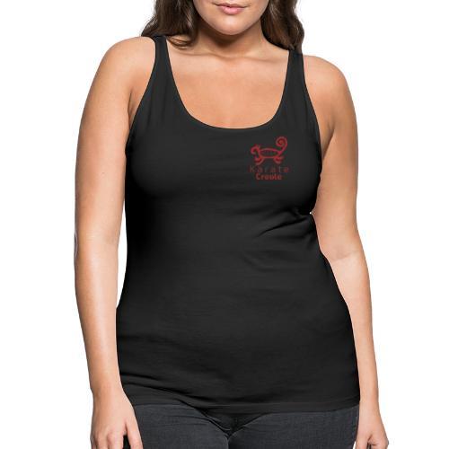 Karate Creole Granate - Camiseta de tirantes premium mujer