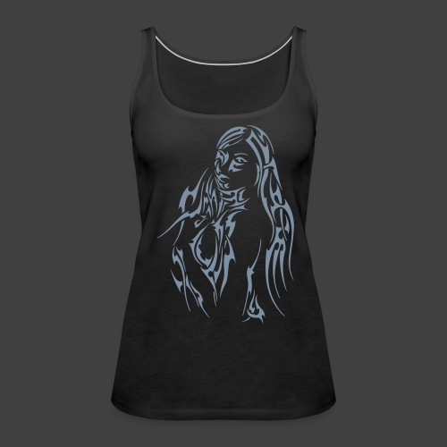 Tribalstyle No 2 - Frauen Premium Tank Top
