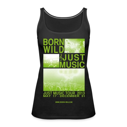 Just Music - Frauen Premium Tank Top