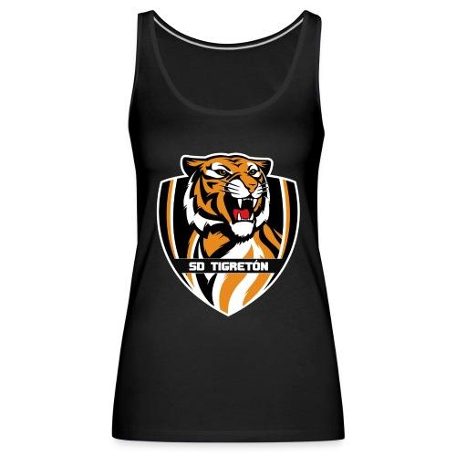 SD Tigreton - Camiseta de tirantes premium mujer