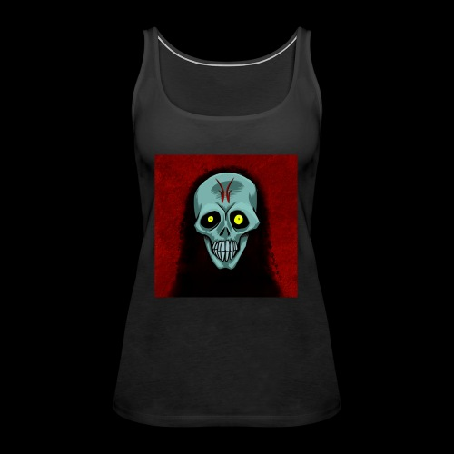 Ghost skull - Women's Premium Tank Top