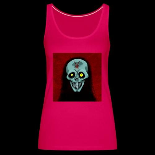 Ghost skull - Women's Premium Tank Top
