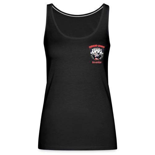 Brustlogo AoZ0199 - Frauen Premium Tank Top