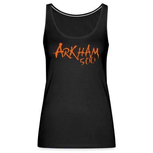 logo_arkham_500_trykk3 - Premium singlet for kvinner