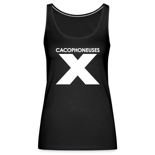 Xcacoblanc gif - Women's Premium Tank Top