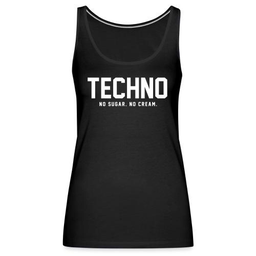 Dark Techno - Women's Premium Tank Top