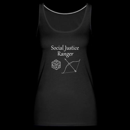 Social Justice Ranger - Women's Premium Tank Top