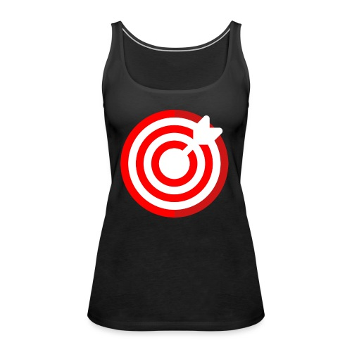 dartboard - Frauen Premium Tank Top