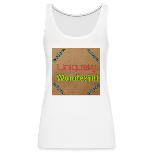 Autism statement - Women's Premium Tank Top