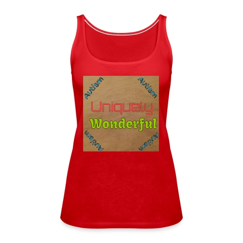 Autism statement - Women's Premium Tank Top