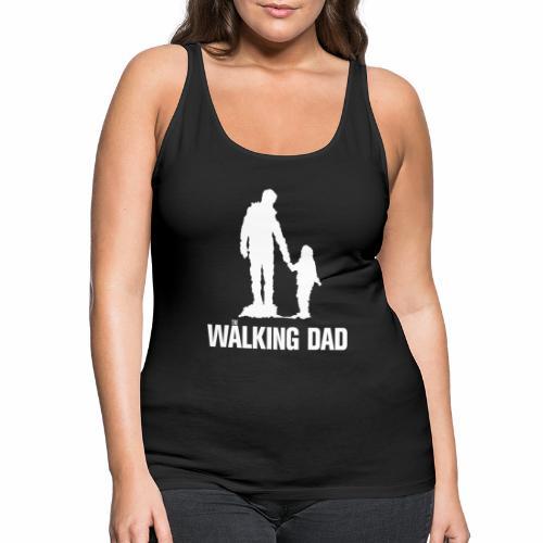 Walking Dad, Rahmen - Frauen Premium Tank Top