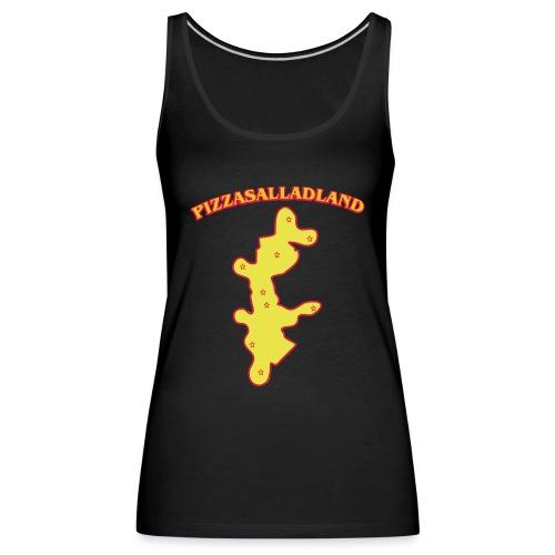 Pizzasalladland - Premiumtanktopp dam