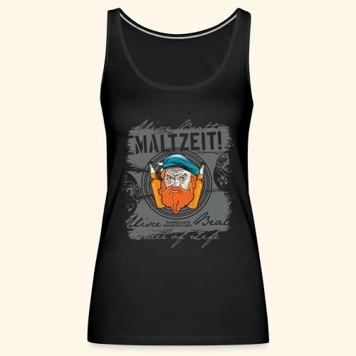 Whisky T Shirt Design Maltzeit - Frauen Premium Tank Top