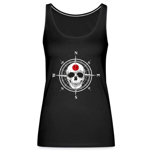 Skull Japanese - Women's Premium Tank Top
