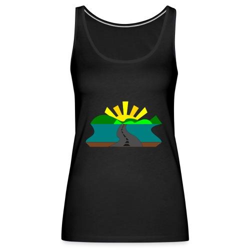 land - Camiseta de tirantes premium mujer