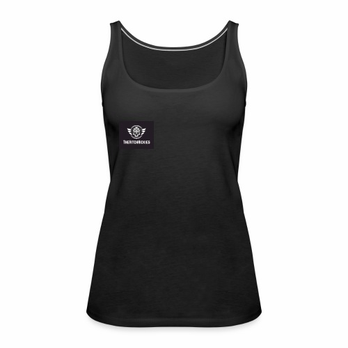 TheHitchHickies (In Black) - Women's Premium Tank Top