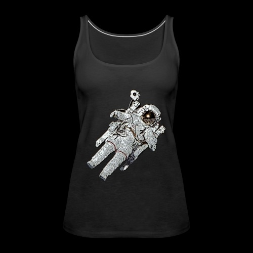 Small Astronaut - Women's Premium Tank Top