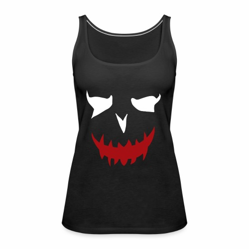 puddin face white - Frauen Premium Tank Top