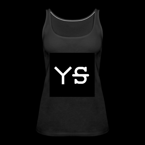 YeetSkeet Letter Logo - Women's Premium Tank Top