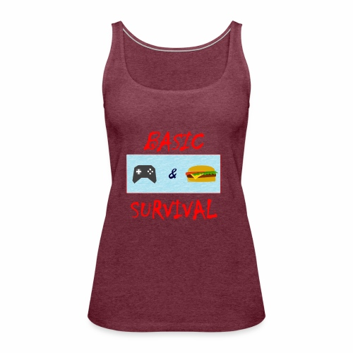 Basic Survival - Women's Premium Tank Top