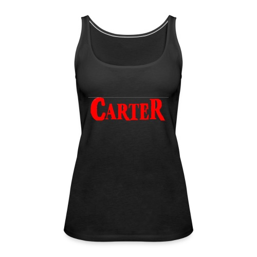 Carter merch - Women's Premium Tank Top