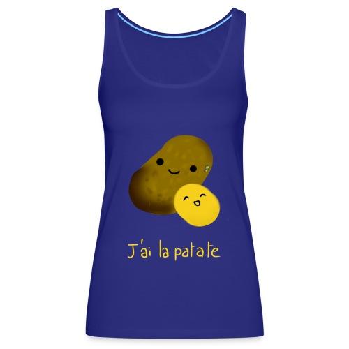 patate png - Débardeur Premium Femme