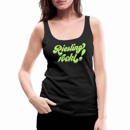 Riesling rockt - Frauen Premium Tank Top