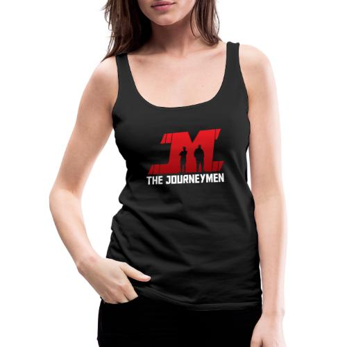 Red White JourneyMen Logo - Women's Premium Tank Top