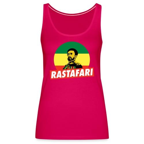 Haile Selassie - Emperor of Ethiopia - Rastafari - Frauen Premium Tank Top