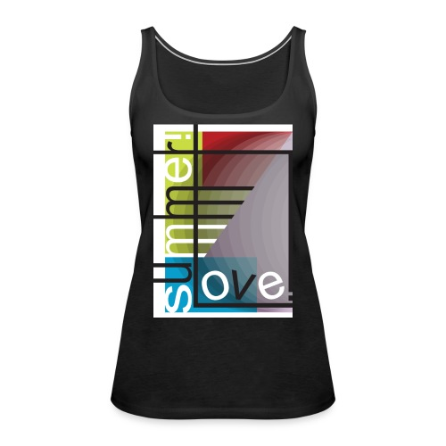 summer love! - Tank top damski Premium