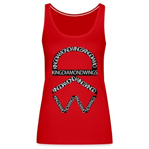 King Diamond Wings Logo - Women's Premium Tank Top