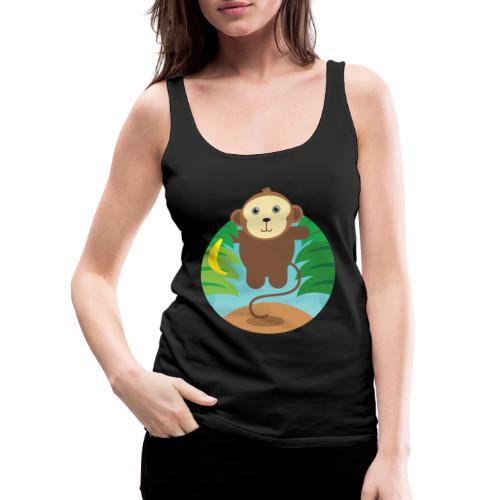 Banana Monkey - Frauen Premium Tank Top