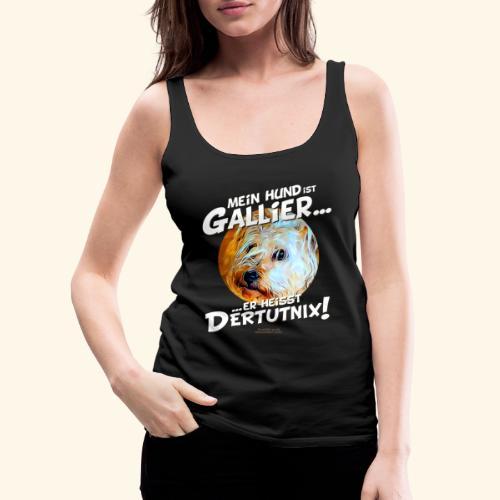 Hunde T-Shirt witziger Spruch für Hundehalter - Frauen Premium Tank Top