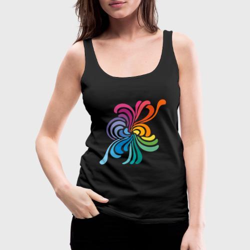Fleurs multicolore - Débardeur Premium Femme