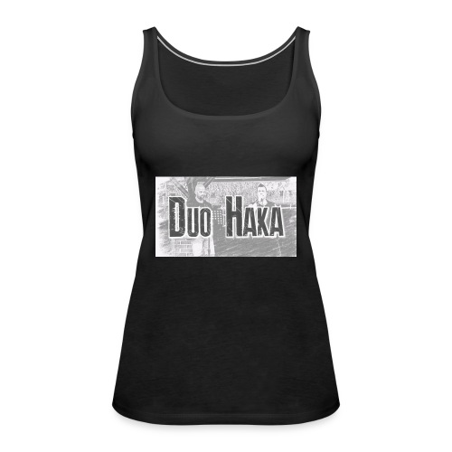 Duo Haka - Naisten premium hihaton toppi