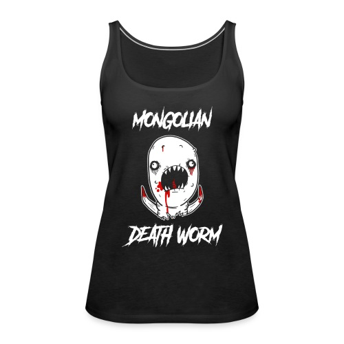 Just John Comics - Mongolian Death Worm - Women's Premium Tank Top