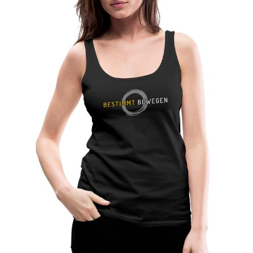 bestimmt bewegen - Logo - Frauen Premium Tank Top