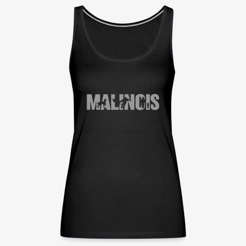 malinois gray - Tank top damski Premium