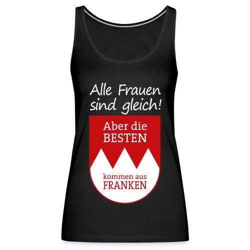 6_spruch_frauen_schwarz - Frauen Premium Tank Top