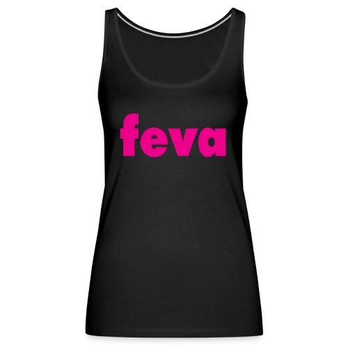 feva logo HR gif - Women's Premium Tank Top