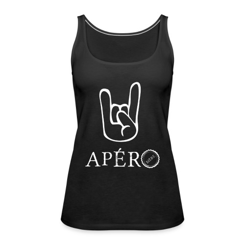 rock and apéro - Débardeur Premium Femme